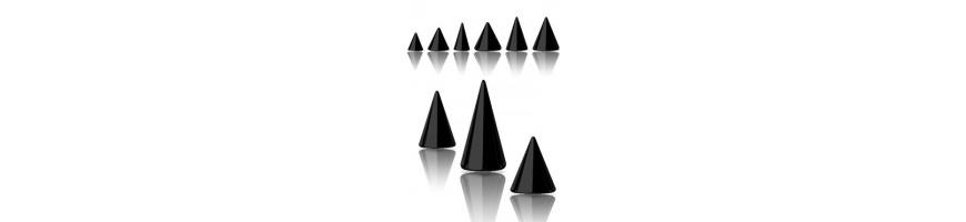 bijoux de piercing noir
