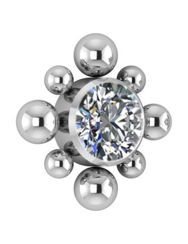 Element titane 1.2 mm interne