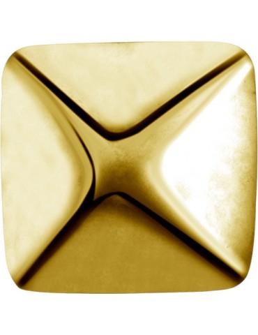 Element pyramide  doré