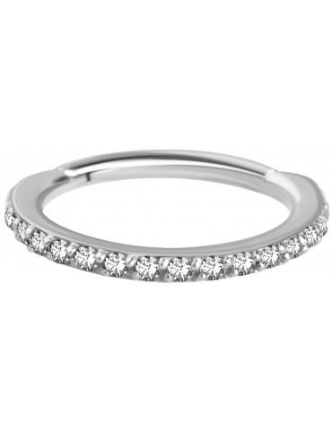 Anneaux en OR blanc et diamant