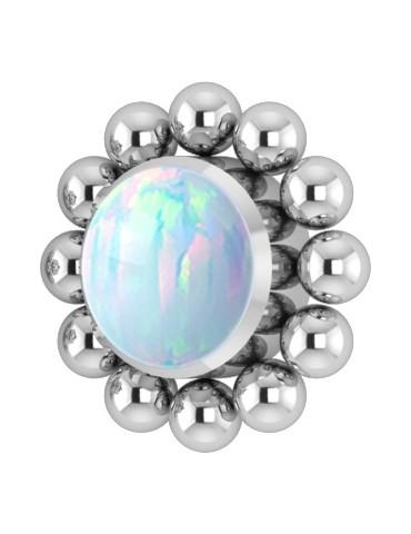 Cluster Titane Opale