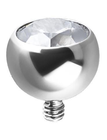 Boule avec cristal