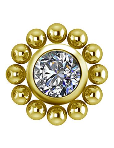 Cluster Titane Gold Zircon...