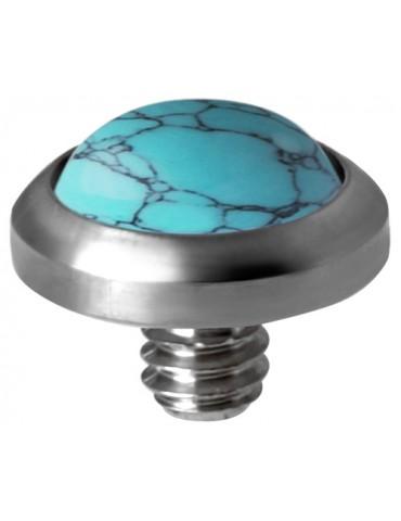 Disque Turquoise Titane