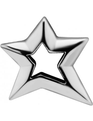 Star Asymétrique Acier 316L - Oreille droite