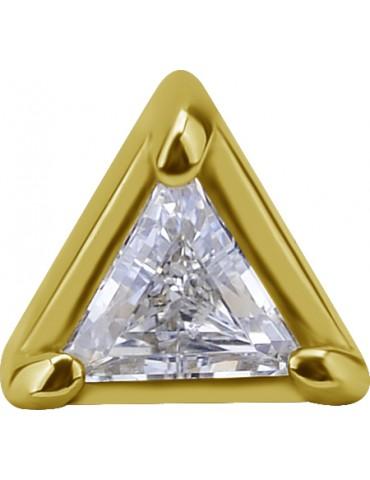 triangle 18 carat