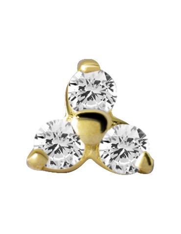 TRINITE or 18 carat