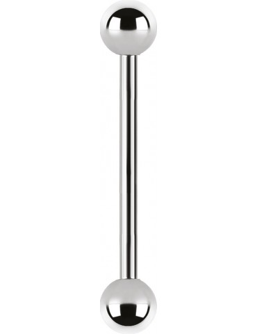 barbell titane 1.6 mm