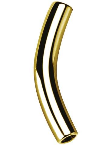 Tige micro barbell courbe