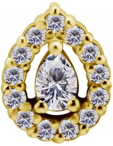 lotus or 18 carat